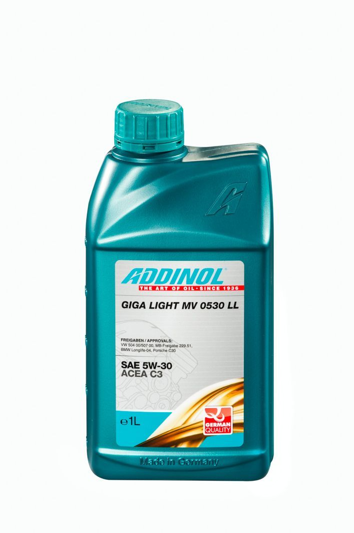 Масло моторное ADDINOL Giga Light MV 0530 LL 5W30 синтетика (1л)